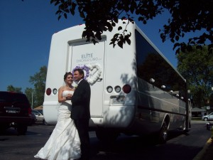 Chicago Wedding Party Bus