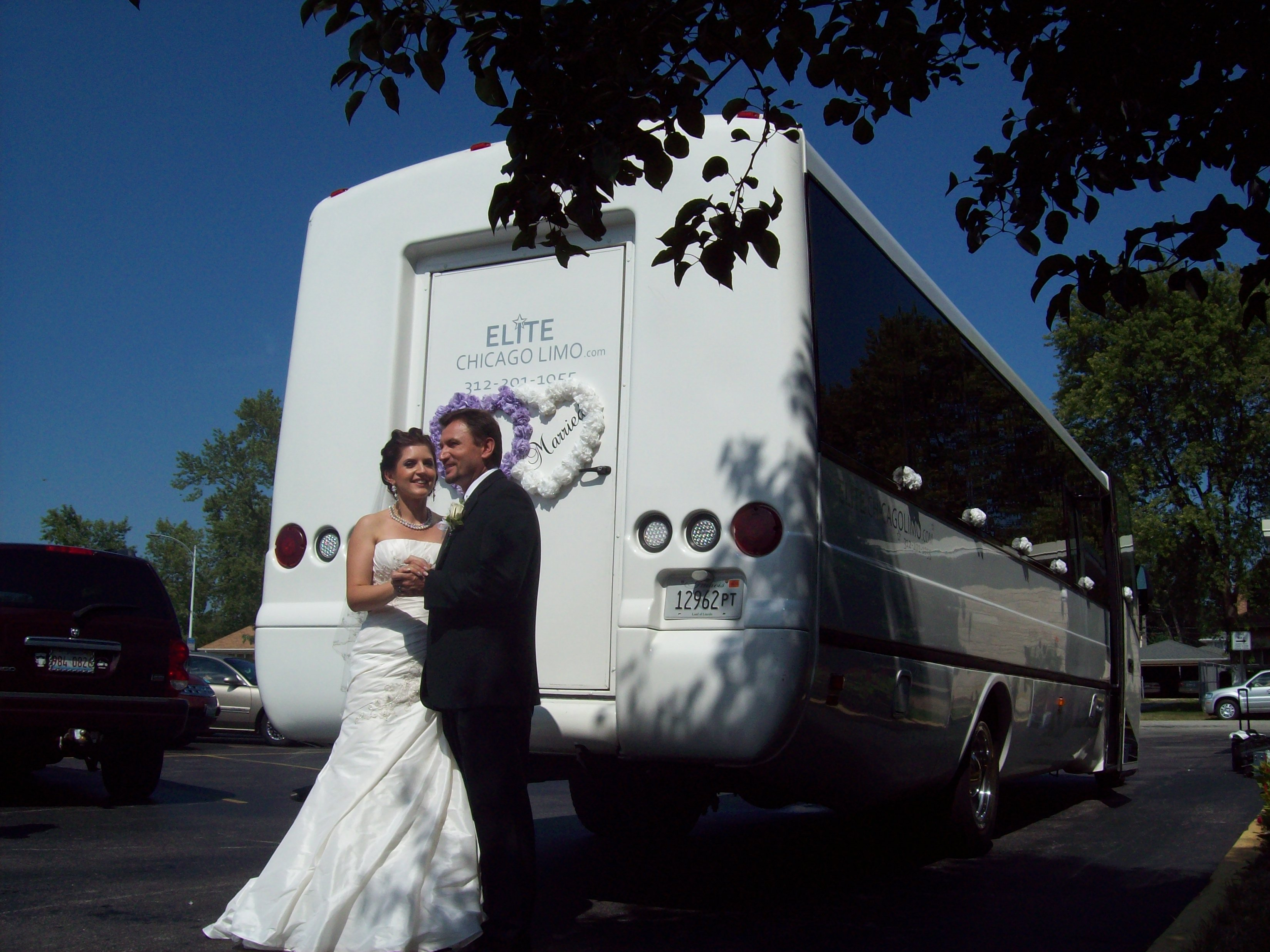 On weddings and party buses chicago limo blog