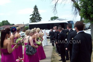 Party Bus Wedding Walk in Chicago