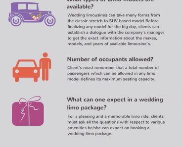 5 Questions To Be Asked From Your Wedding Limo Provider!